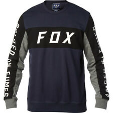 Fox Racing Rhodes Crew Homme Pull Sweater - Midnight Toutes Tailles