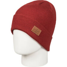 Quiksilver Brigade Homme Couvre-chefs Bonnet - Ketchup Red Une Taille