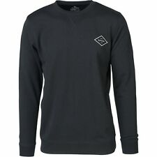 Rip Curl Essential Surfers Crew Homme Pull Sweater - Black Toutes Tailles