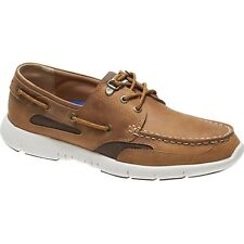 Sebago Clovehitch Lite Homme Chaussures Mocassins - Brown Tan Waxed Leather