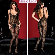 Bodystocking in pizzo Sophia MusicLegs Sexy shop lingerie donna intimo erotic