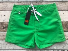 SUNDEK col. GREEN #7 Costume Mare Uomo M502BDTA100 - BS/RB - LOW RISE 14""