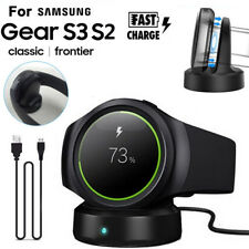 Wireless Charging Dock Cradle Charger For Samsung Gear S3 S2 Classic Smart Watch