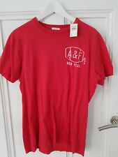 NEWgenuine Abercrombie & Fitch men T shirt Muscle fit by Abercrombie X Large