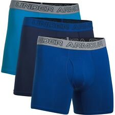 Under Armour Charged Cotton Stretch 6in Boxerjock 3 Pack Mens Underwear Boxer