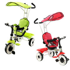 4 en 1 enfant tricycle Poussettes enfants buggy tricycle trike cycliste