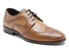 Red Tape Mottram Uomo Pelle Cuoio Brogue Gibsons