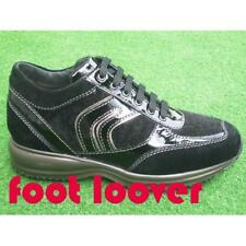 Scarpe Geox Happy D8356R C9999 sneakers donna black IT