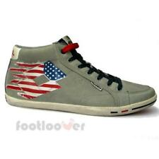 Scarpe Lotto Wayne Mid V Q7557 Uomo Sneakers Vintage Usa Flag Grey Limited IT
