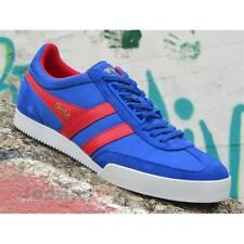 Scarpe Gola Super Harrier CMA218EX Uomo Sneakers Nylon Reflex Blue Red Casual