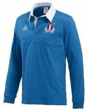 Polo Adidas FIR CUL JERSEY LS W68889 Uomo Manica Lunga Nazionale Italia Rugby