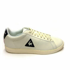 Scarpe Le Coq Sportif Courtset Lea 1710073 Sneakers Leather Uomo Marshmellow Dre
