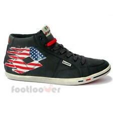 Scarpe Lotto Wayne Mid V Q7556 Uomo Sneakers Vintage Usa Flag Navy Limited IT