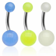 "TITANIO Piercing de Ombligo UV Ultra "" Glow"" MUST HAVE Piercings por coolbody"