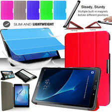 "Smart Leather Stand Case Cover For Samsung Tab A / 4 10.1"", S2 8""/9.7"", S 10.5"""