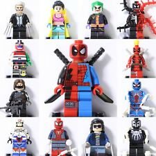 2018 New Marvel Super heroes Dc Comics Custom Mini Figures Fit With Lego Toys