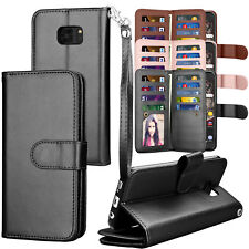 For Samsung Galaxy S7/S7 Edge Flip Pouch PU Leather Card Slot Holder Wallet Case
