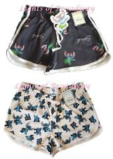 Primark Disney Stitch Hawaiian Shorts Bottoms Casual Sports Ladies Girls NEW