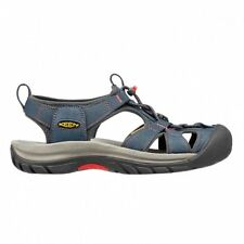 Keen Venice H2 Femme Chaussures Tongs - Midnight Navy Hot Coral Toutes Tailles
