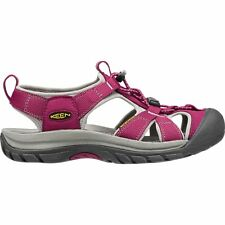 Keen Venice H2 Femme Chaussures Tongs - Beet Red Neutral Grey Toutes Tailles