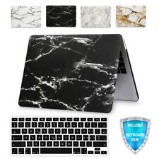 For MacBook Retina 12 Inch A1534 Marble Design Hard Case Keyboard Skin Cover