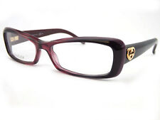 GUCCI reading glasses +0.25 to +3.50 Cherry Burgundy 52mm Womens GG3516 W0L