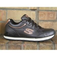 Scarpe Skechers Originals 82 Shimmers 144 BLK Donna Sneakers Black Casual Moda