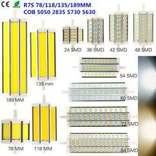 10/15/20/25W 78/118/135/189mm R7S LED COB SMD Ampoule Spotlight Lampe Dimmable