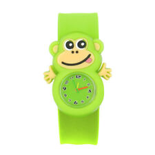 Adorable Cartoon Children Watch Slap Watch Silicone Quartz Wrist Watch Boys Gift