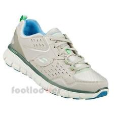 Scarpe Skechers Synergy Front Row 12013 GYLB Grey Donna Memory Moda Fashion Ita