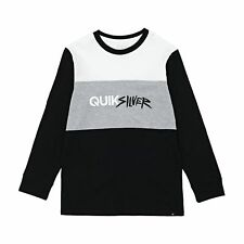 Quiksilver Opposite Attract T-shirt Long Sleeve - White All Sizes