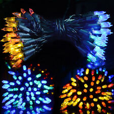 Solar Powered 100LED String Fairy Lights Garden Outdoor Wedding Party Decoration