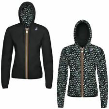 K-WAY LILY PLUS DOUBLE GRAPHIC giacca reverse KWAY ZIP DONNA Negozio NEWS 904jmh