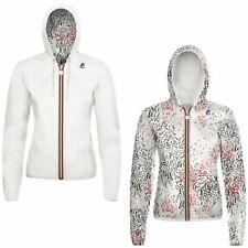 K-WAY LILY PLUS DOUBLE GRAPHIC giacca reverse KWAY ZIP DONNA Negozio NEWS 903uco