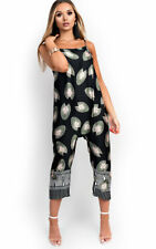 IKRUSH Womens Rocha High Neck Tropical Jumpsuit