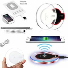 New Qi Wireless Charger Charging Dock Pad For Samsung Galaxy S7 S8 S9 iPhone X