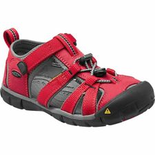 Keen Seacamp Ii Cnx Enfant Chaussures Tongs - Racing Red Gargoyle Toutes Tailles