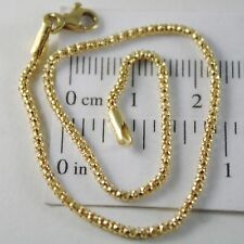 PULSERA ORO AMARILLO O BLANCO 750 18 CT CESTA, MINI 2 MM, 19 CM, MADE IN ITALY