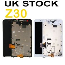 Blackberry Z30 LCD Screen Display&Touch Digitizer Assembly W Frame white & Black
