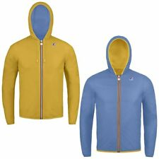 K-Way JACQUES PLUS DOUBLE giacca reverse KWAY BAMBINO Variable Meteo News 995tjc