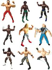 WWE WWF TNA Wrestling Superposable Wrestler toy action figures lot CHOICE OF 9