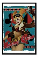 Dc Comics Harley Quinn Bombshell Poster Magnetico Bacheca Include Magneti