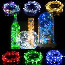 LED String light 10M 5M 2M 3AA Battery Powered USB Copper Wire String Lights