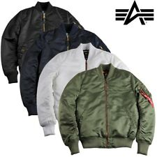 Alpha Industries Giacca Invernale Uomo MA-1 VF Pm Tt Bomber S S-3XL