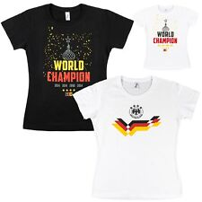 Calcio Donna 2018 WM Maglia Fan Maglietta Top Germania per Donne Xs S M L XL