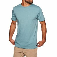 Billabong All Day Crew Tee Ss Mens T-shirt - Hydro Heather All Sizes