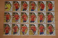 Panini World Cup 2018 Rusia WM Team Adrenalyn España Individualmente Elegir