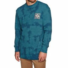 Quiksilver Volcanic Ocean Crew Homme Pull Sweater - Tapestry Toutes Tailles