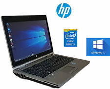 "Notebook HP EliteBook 2570p Core i5 3320M 2.6GHz 4Gb 320Gb 12.5"" HD Windows 10 P"