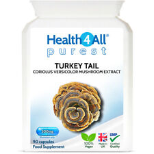 Turkey Tail (Coriolus Versicolor) Mushroom Extract Capsules | IMMUNE SUPPORT